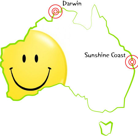 Balloon Deliveries to Darwin and Sunsine Coast